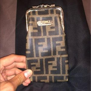 Fendi coin purse